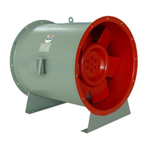 高效低噪斜流風機
